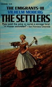 Cover of: The settlers (The emigrants)