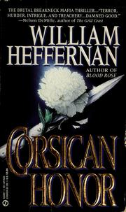 Cover of: Corsican Honor | William Heffernan