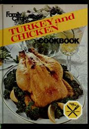 Cover of: Turkey and chicken cookbook |