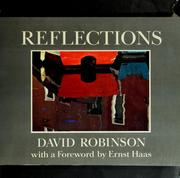 Cover of: Reflections | Robinson, David
