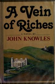 Cover of: A vein of riches