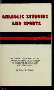 Cover of: Anabolic steroids and sports