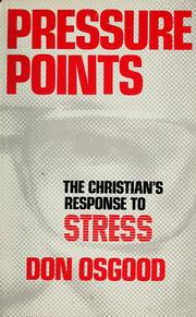Cover of: Pressure points by Don Osgood
