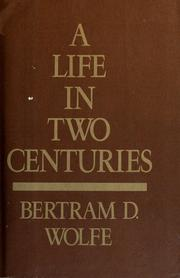Cover of: A life in two centuries