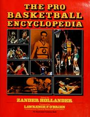 Cover of: The Pro basketball encyclopedia | edited by Zander Hollander.