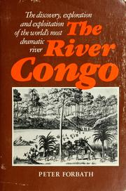 Cover of: The river Congo