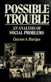 Cover of: Possible trouble