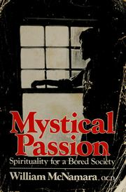 Cover of: Mystical Passion | William McNamara, Fr., OCD