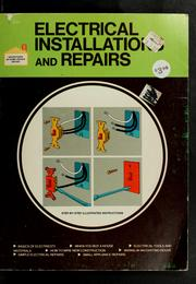 Cover of: Electrical installations and repairs | Dick Demske