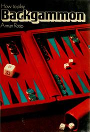 Cover of: How to play backgammon | Arman Ratip