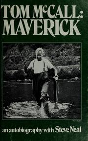 Cover of: Tom McCall, Maverick | Tom McCall