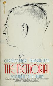 Cover of: Memorial | Christopher Isherwood