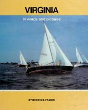 Cover of: Virginia, in words and pictures