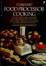 Cover of: Cuisinart food processor cooking