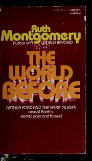 Cover of: The world before