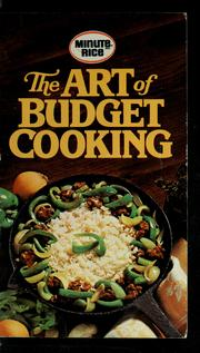 Cover of: The art of budget cooking | General Foods Corporation