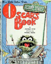 Cover of: Oscar's Book | Jeffrey Moss