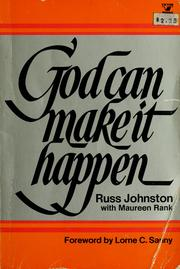 Cover of: God can make it happen