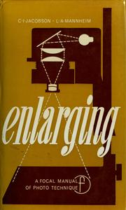 Cover of: Enlarging | Kurt Jacobsohn