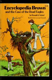 Cover of: Encyclopedia Brown and the Case of the Dead Eagles