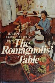 Cover of: The Romagnolis' table