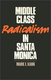 Middle class radicalism in Santa Monica