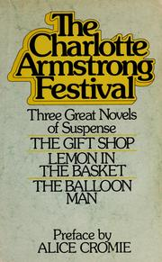 Cover of: The Charlotte Armstrong festival
