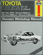 toyota celica owners workshop manual open library rh openlibrary org toyota celica haynes manual 2001 celica gt4 haynes manual