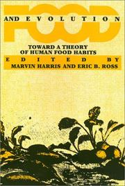 Cover of: Food and evolution |