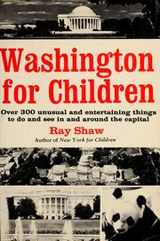 Cover of: Washington for children. | Ray Shaw