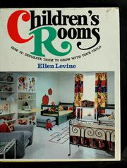 Cover of: Children's rooms
