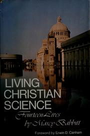 Cover of: Living Christian Science