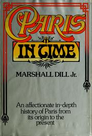 Cover of: Paris in time