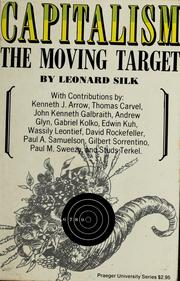 Cover of: Capitalism, the moving target