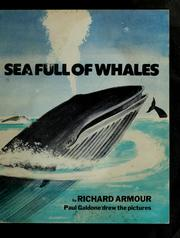 Cover of: Sea full of whales |