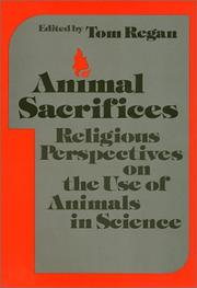 Cover of: Animal Sacrifices