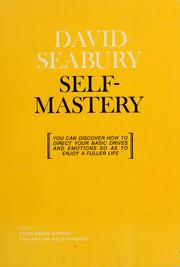 Cover of: Self Mastery