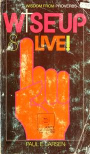 Cover of: Wise up & live!