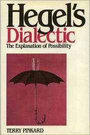 Cover of: Hegel's dialectic