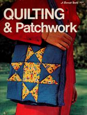 Cover of: Quilting & patchwork |