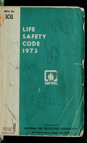 Cover of: Life safety code, 1973 | National Fire Protection Association