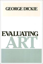 Cover of: Evaluating art