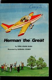Cover of: Herman the great | Zora Louise Olsen