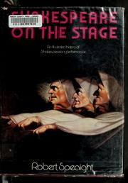 Cover of: Shakespeare on the stage