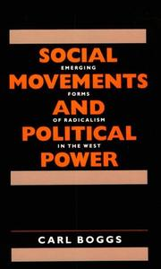 Cover of: Social Movements and Political Power