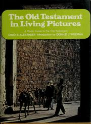 Cover of: The Old Testament in living pictures | Alexander, David