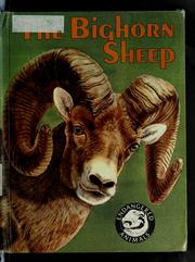 Cover of: The bighorn sheep