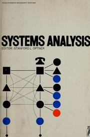 Cover of: Systems analysis: selected readings