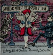 Cover of: Nothing much happened today