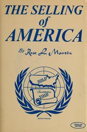 Cover of: The selling of America | Rose L. Martin